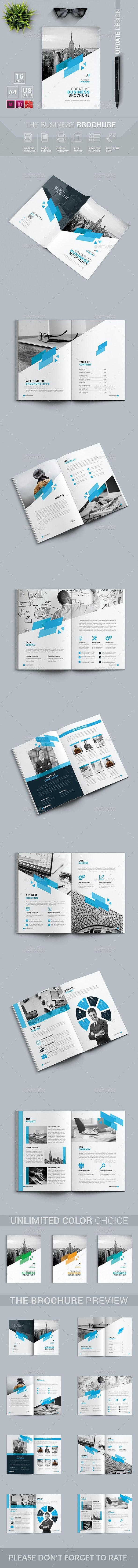 قالب ایندیزاین بروشور Brochure