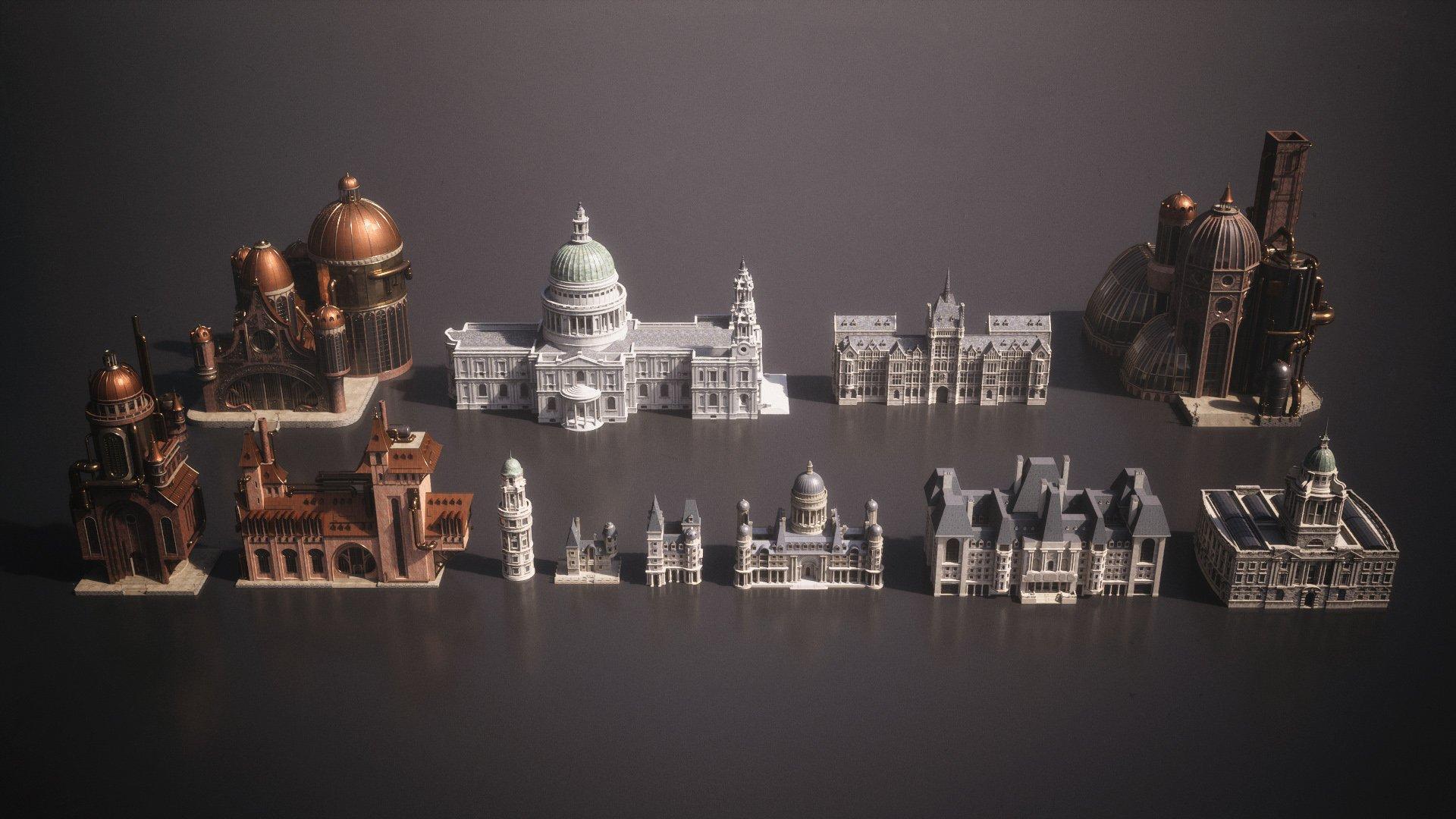 دانلود مدل سه بعدی بناهای سلطنتی