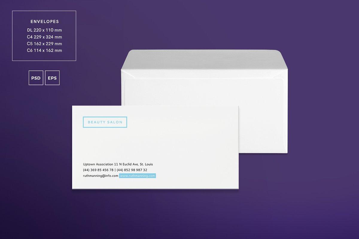 دانلود فایل لایه باز آگهی سالن زیبایی