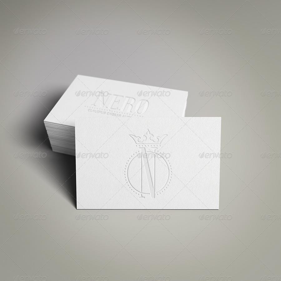 موکاپ کارت ویزیت Business Card Mockup Pack