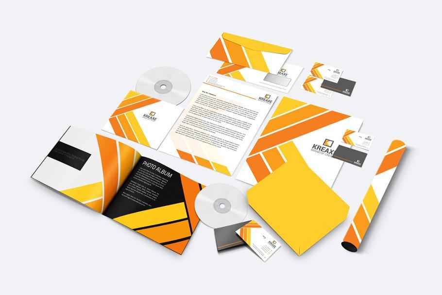 فایل لایه باز ست اداری Corporate Identity Set