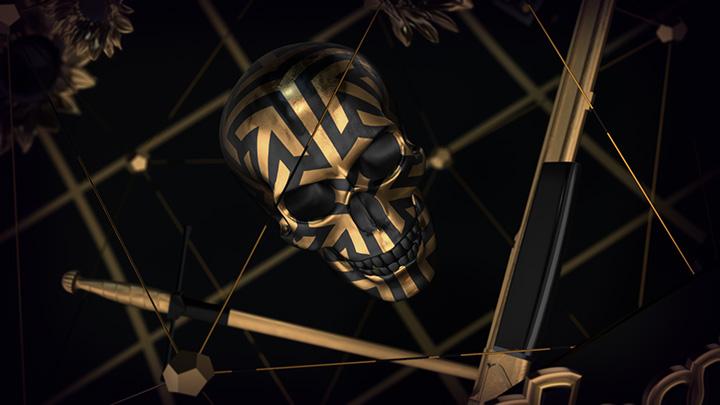 پروژه افترافکت تایتل سه بعدی