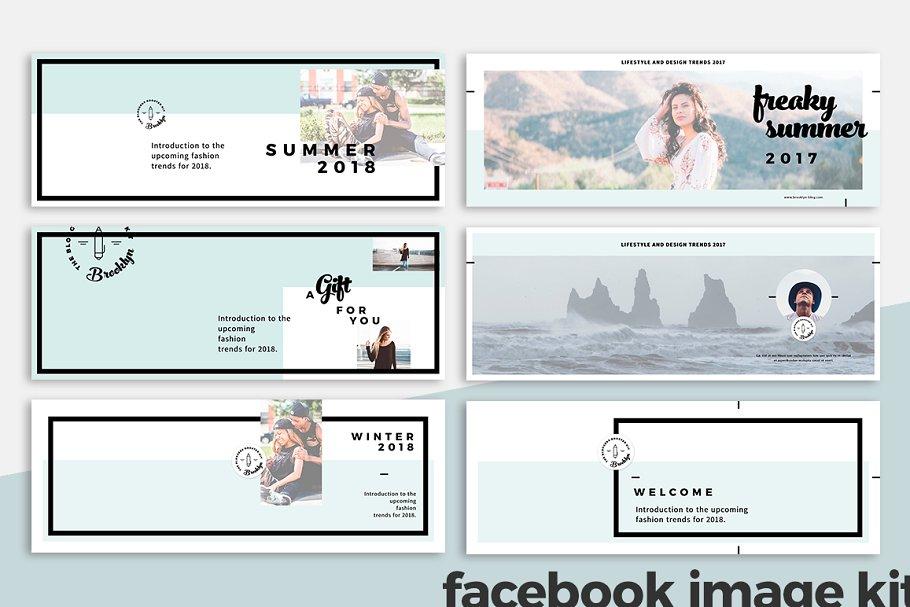 فایل لایه باز فیسبوک
