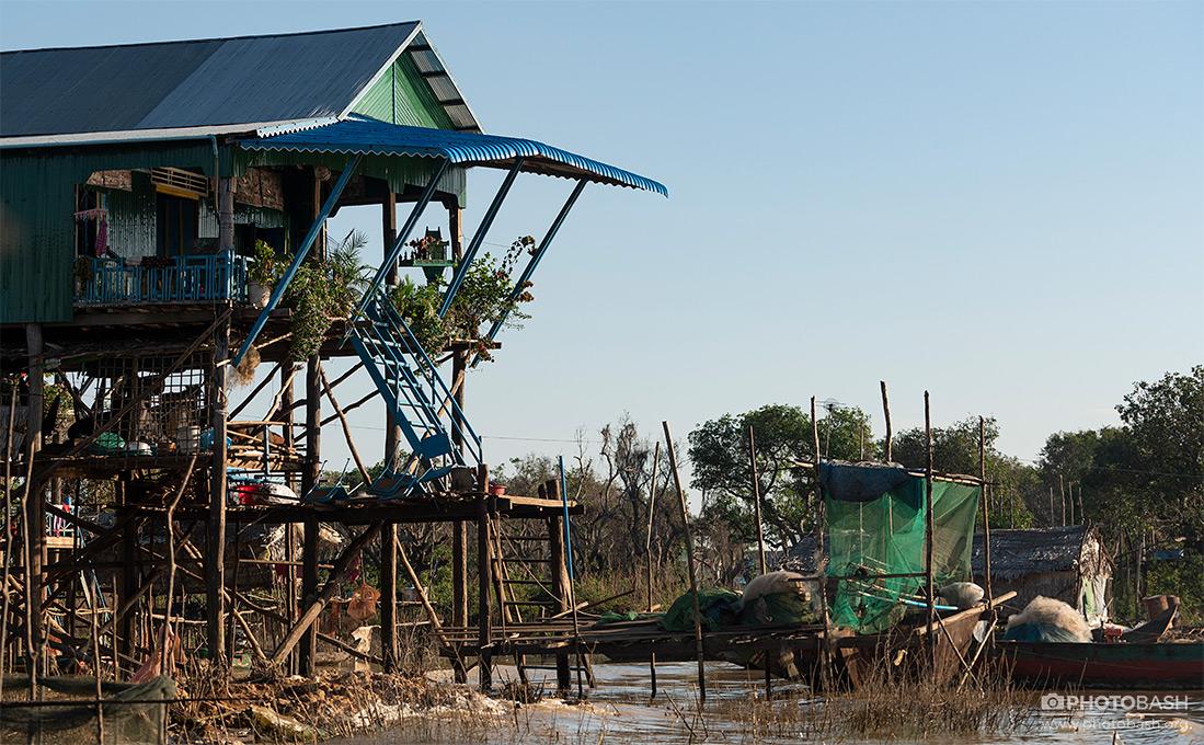 تصاویر رفرنس دهکده های شناور