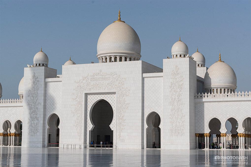 تصاویر رفرنس مسجد سفید بزرگ