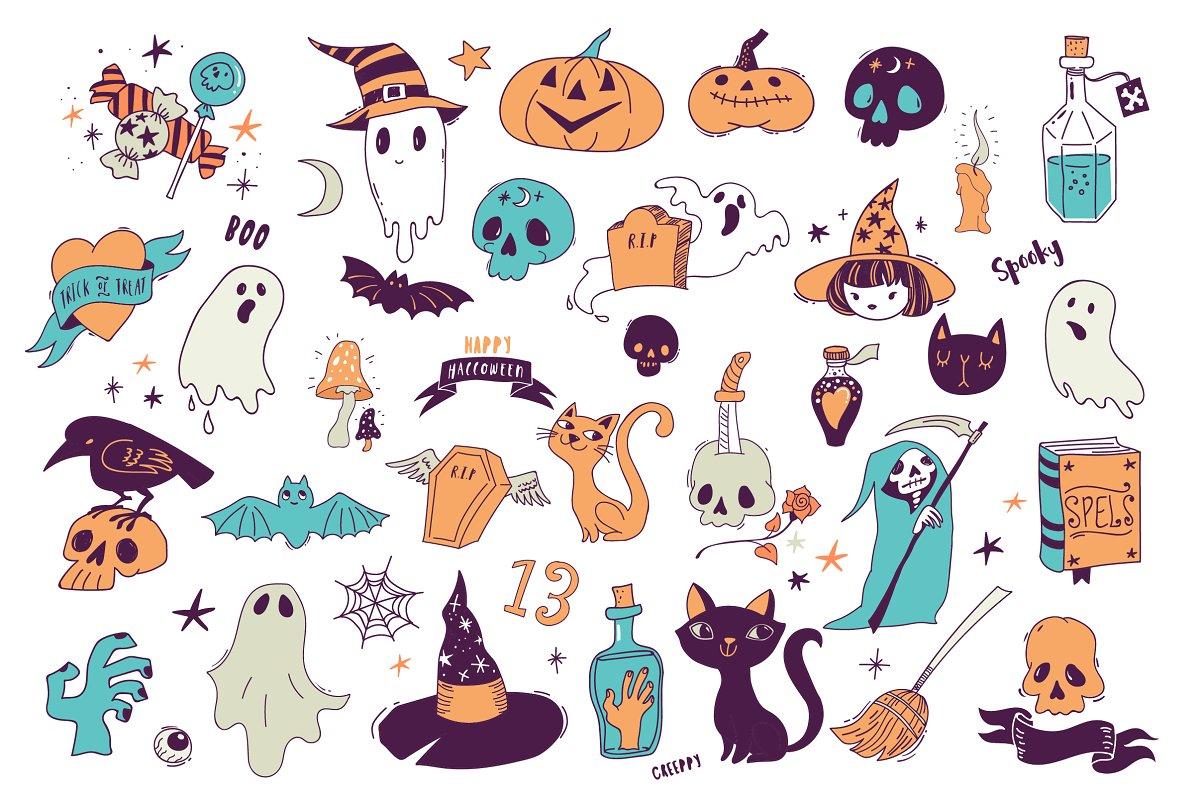 وکتور هالووین