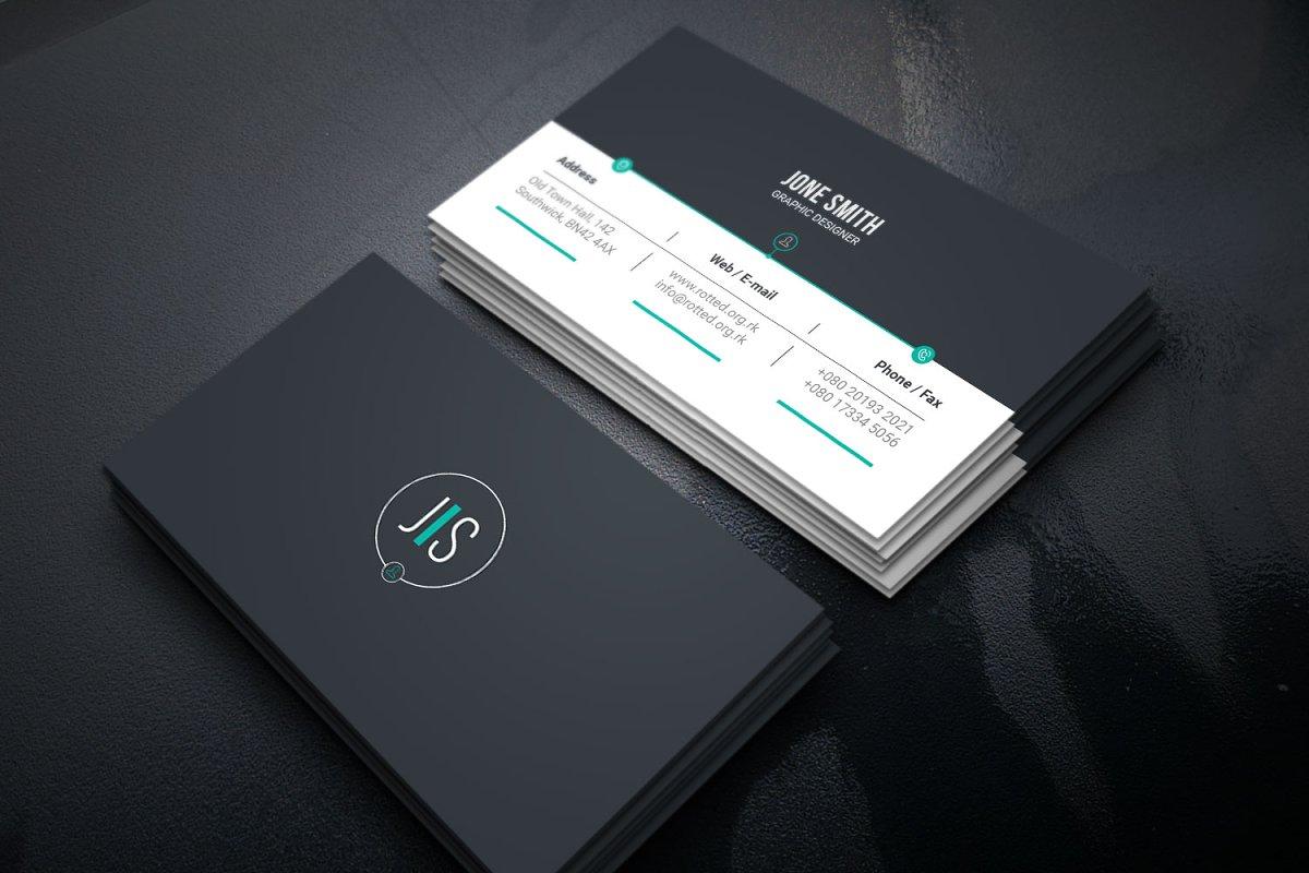 وکتور کارت ویزیت Ifta Business Card