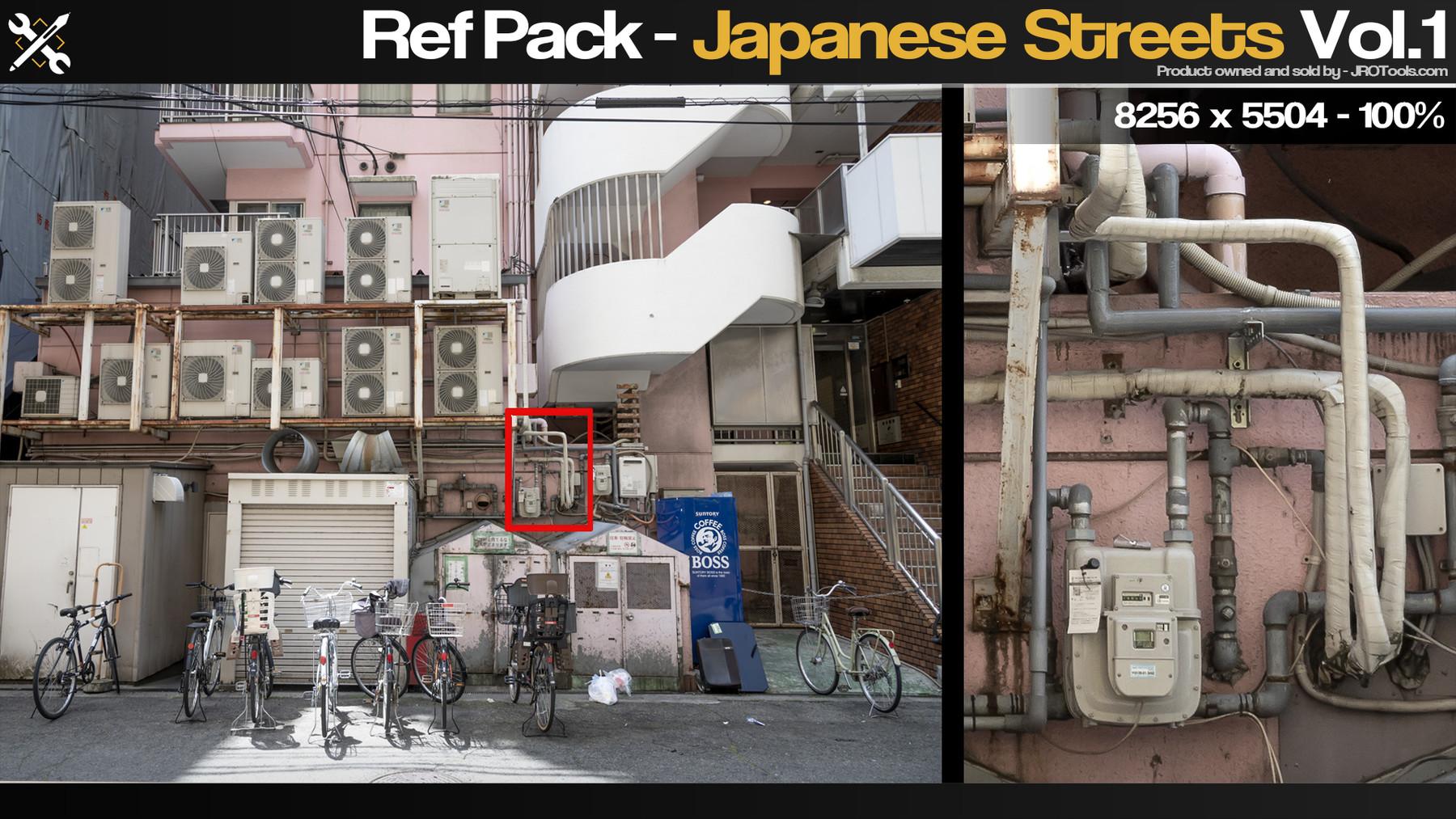 تصاویر رفرنس از خیابان های ژاپن
