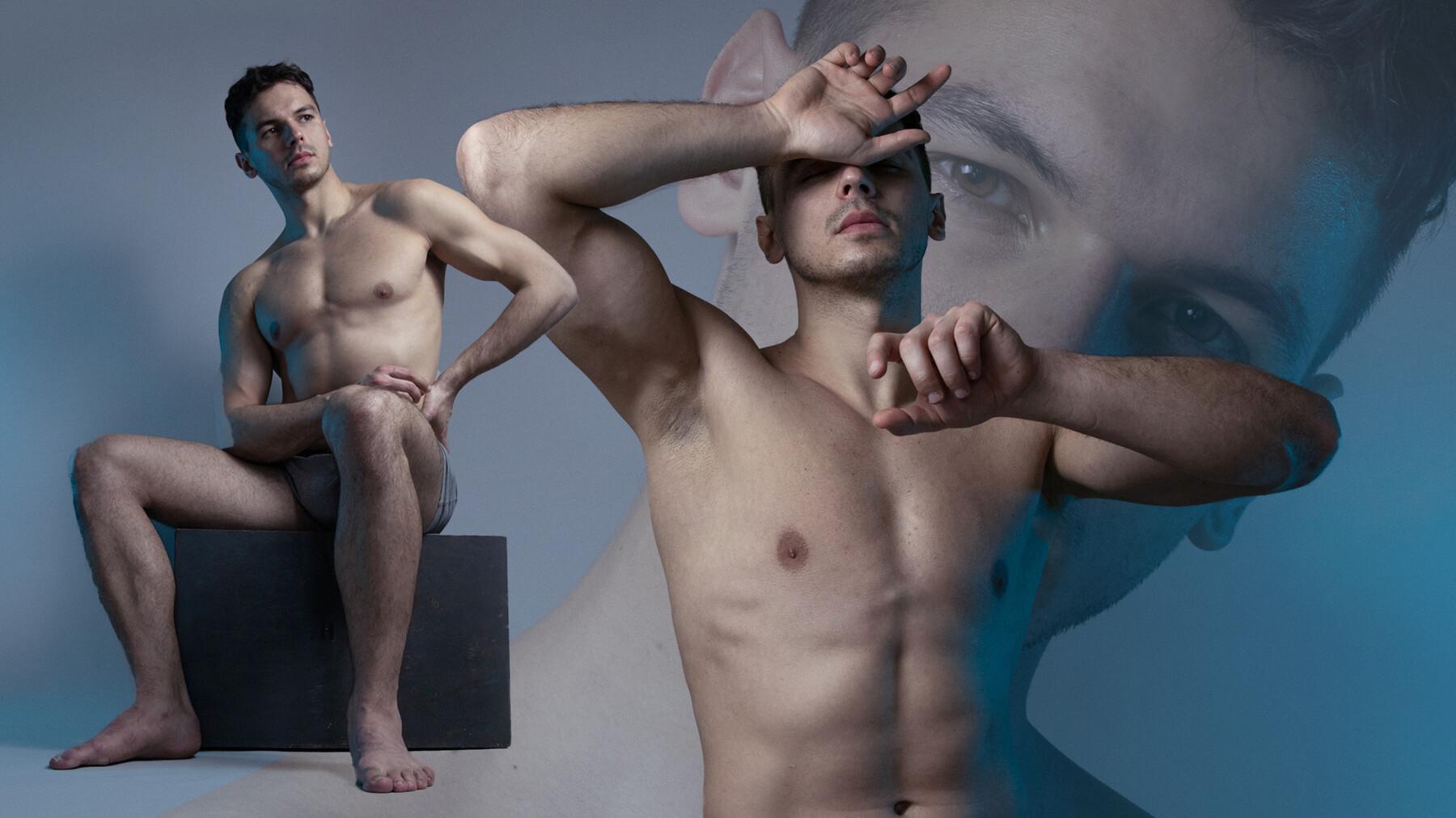 تصاویر رفرنس پرتره و بدن مردان
