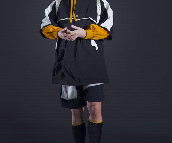 آبجکت لباس ورزشی مردانه