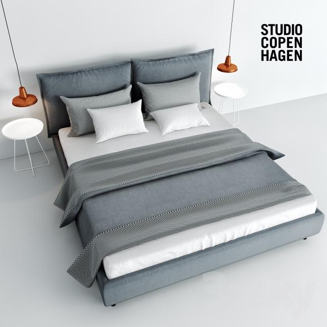دانلود 60 مدل سه بعدی تختخواب مدرن