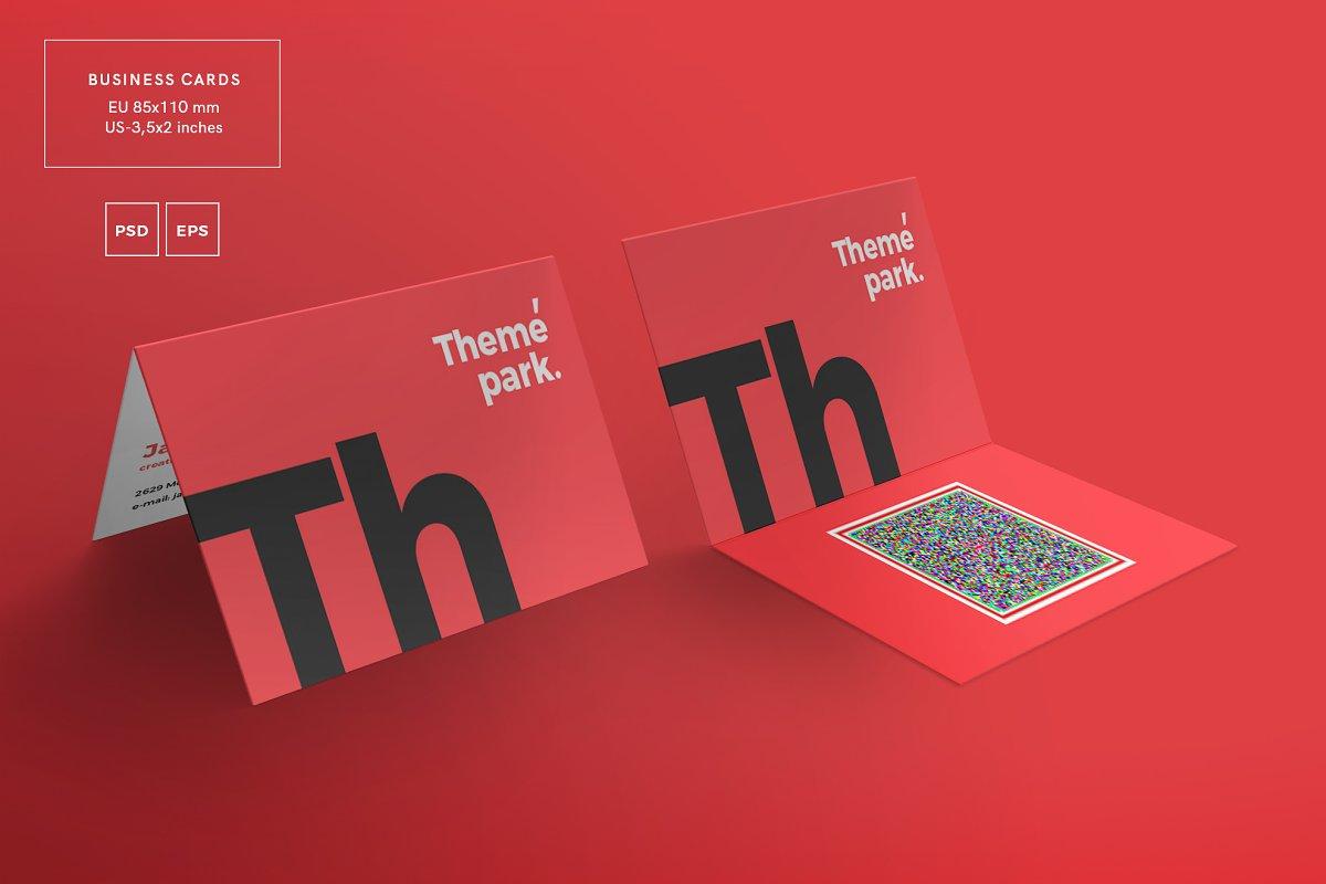 فایل لایه باز آگهی Print Pack | Theme Park