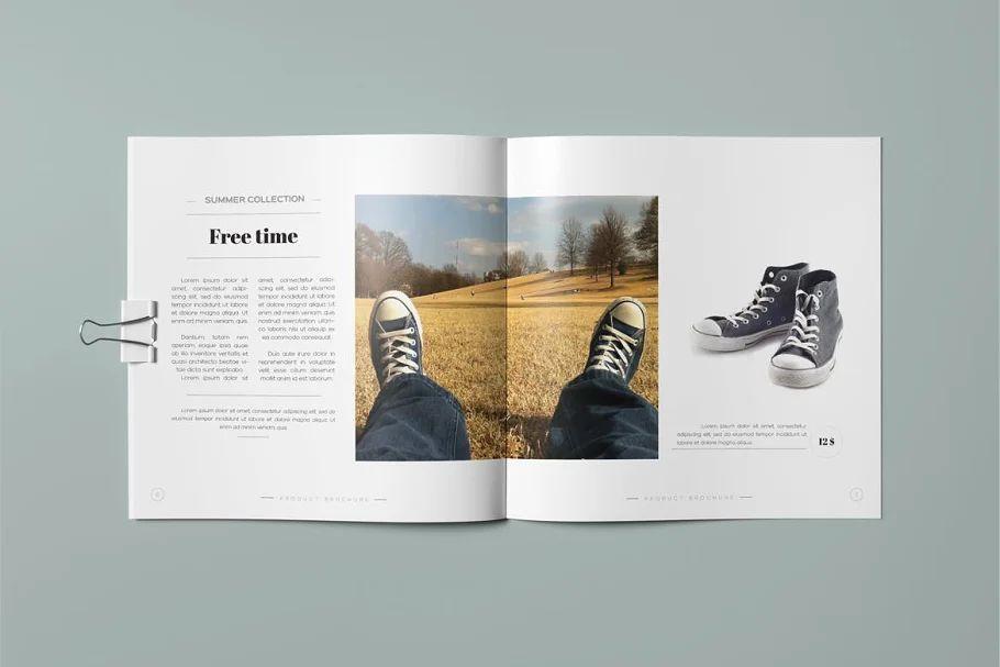 قالب ایندیزاین بروشور Product Brochure