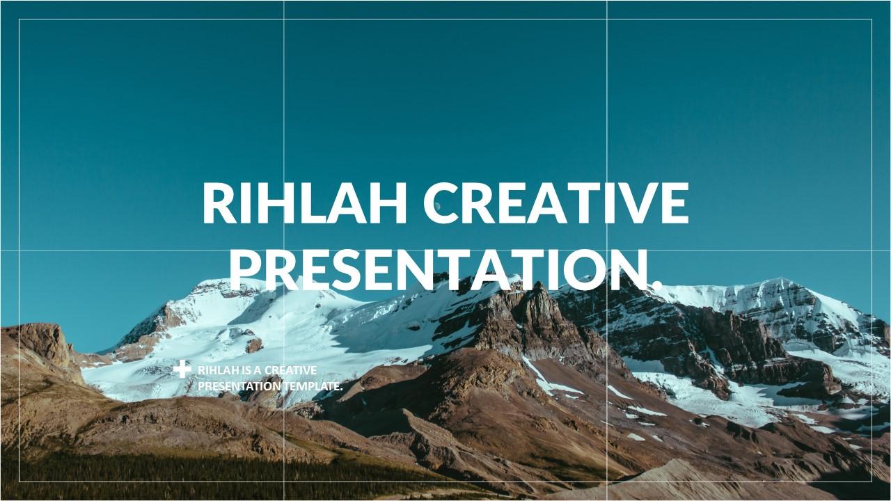 قالب پاورپوینت Rihlah Creative Powerpoint