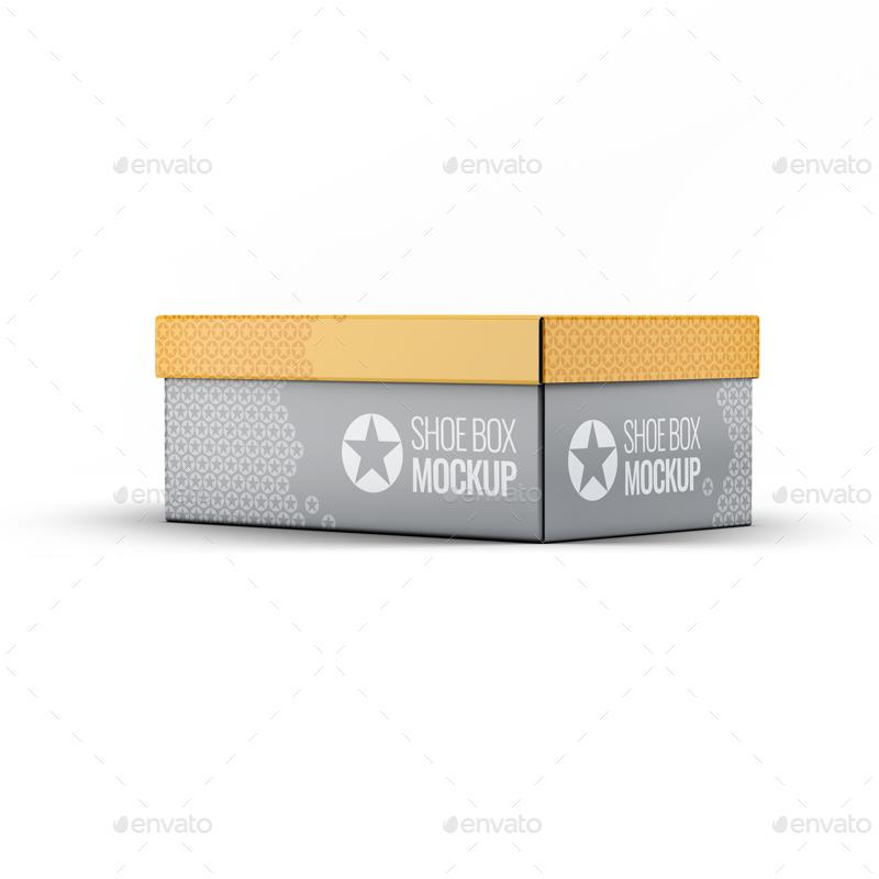 موکاپ جعبه کفش