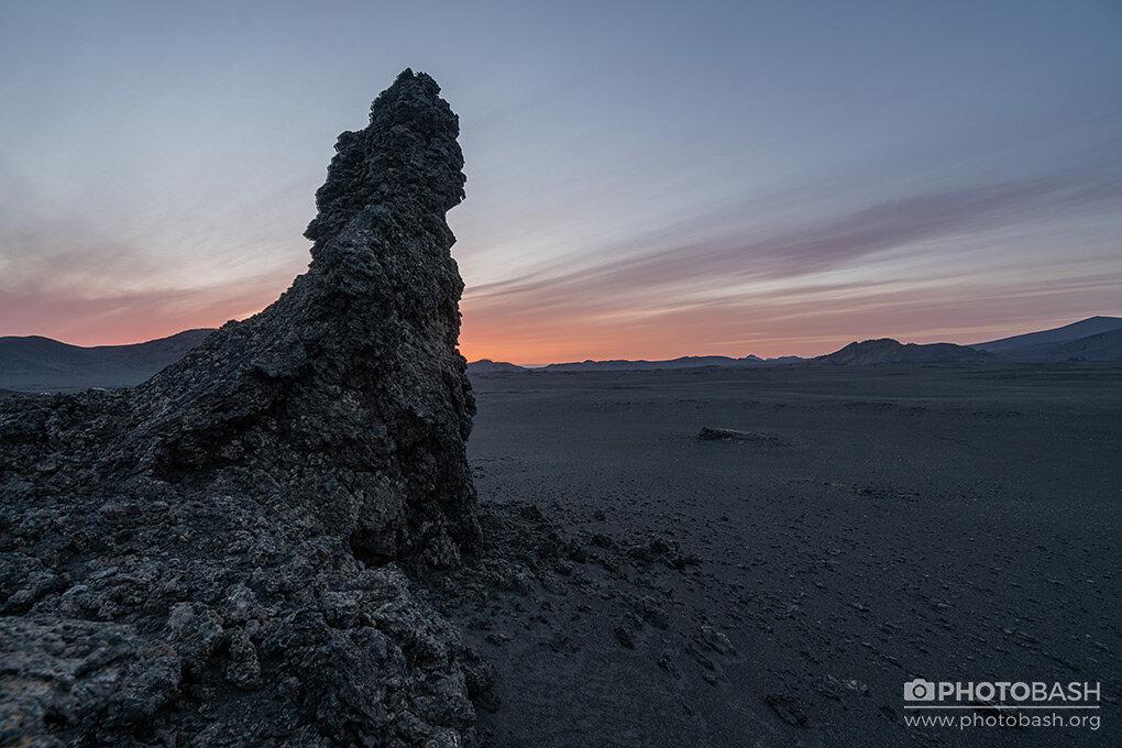 تصاویر رفرنس بیابان آتشفشانی